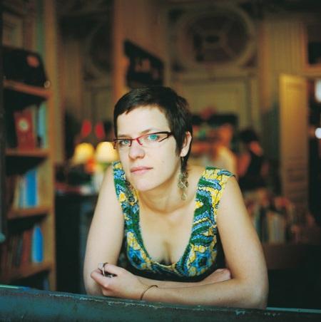 Juliette Pelettier, libraire, Strasbourg 2007